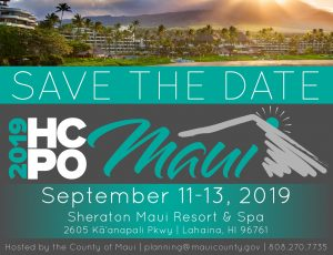 Save the Date: 2019 HCPO planned this Fall post thumbnail