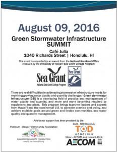 Green Stormwater Infrastructure SUMMIT post thumbnail