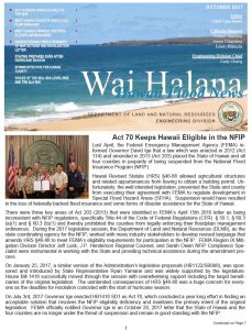 WAI HALANA –  October 2017 post thumbnail
