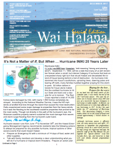 WAI HALANA – December 2017 (Special Edition) post thumbnail