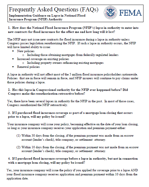 NFIP Reauthorization post thumbnail